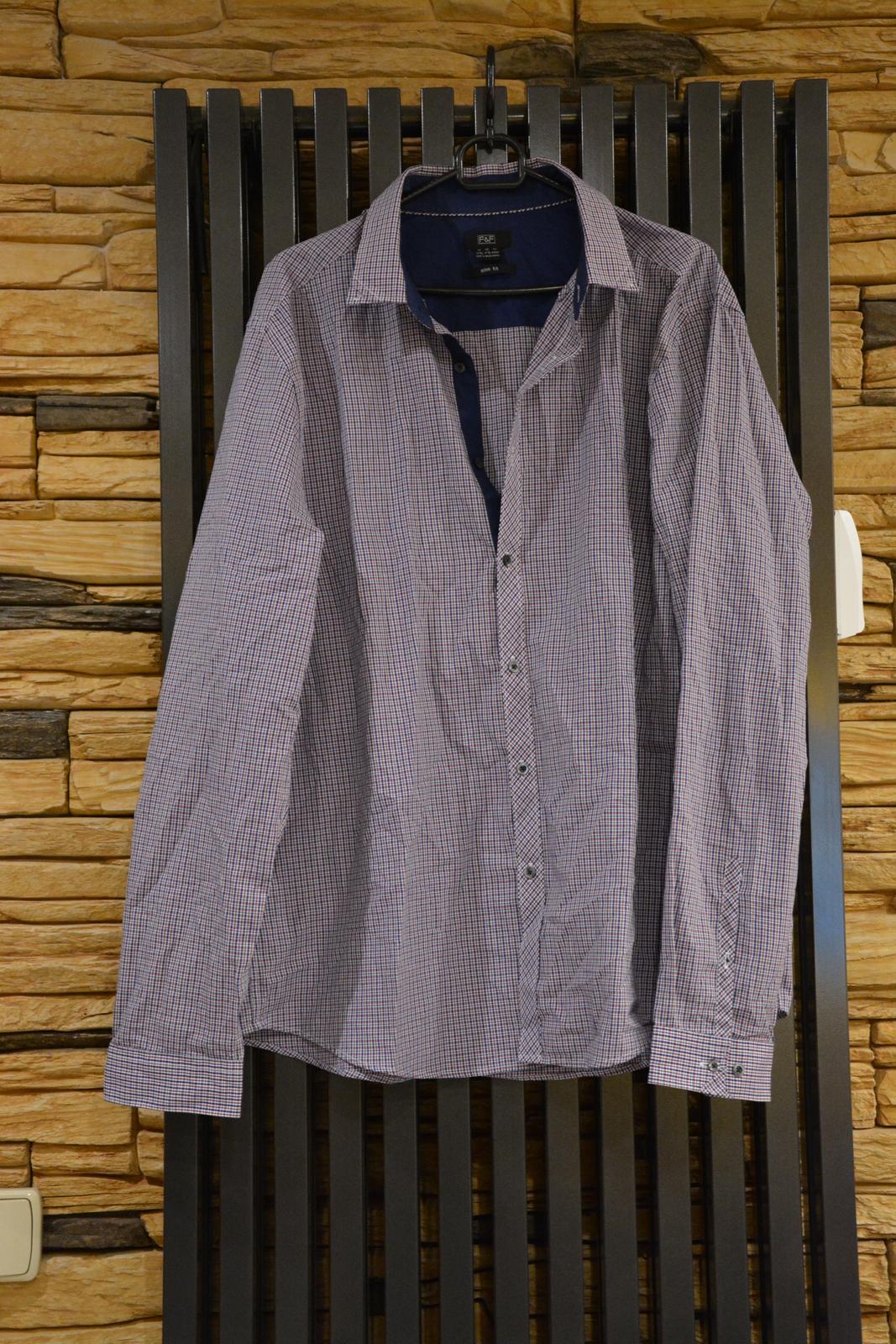 Kostkovaná košile F&F - Obrázek č. 1