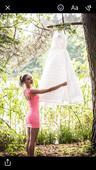 Bílé svatebni šaty , 36