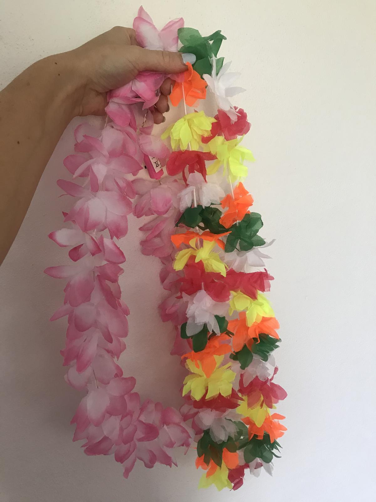 Havajské věnce do fotokoutku - Obrázek č. 1