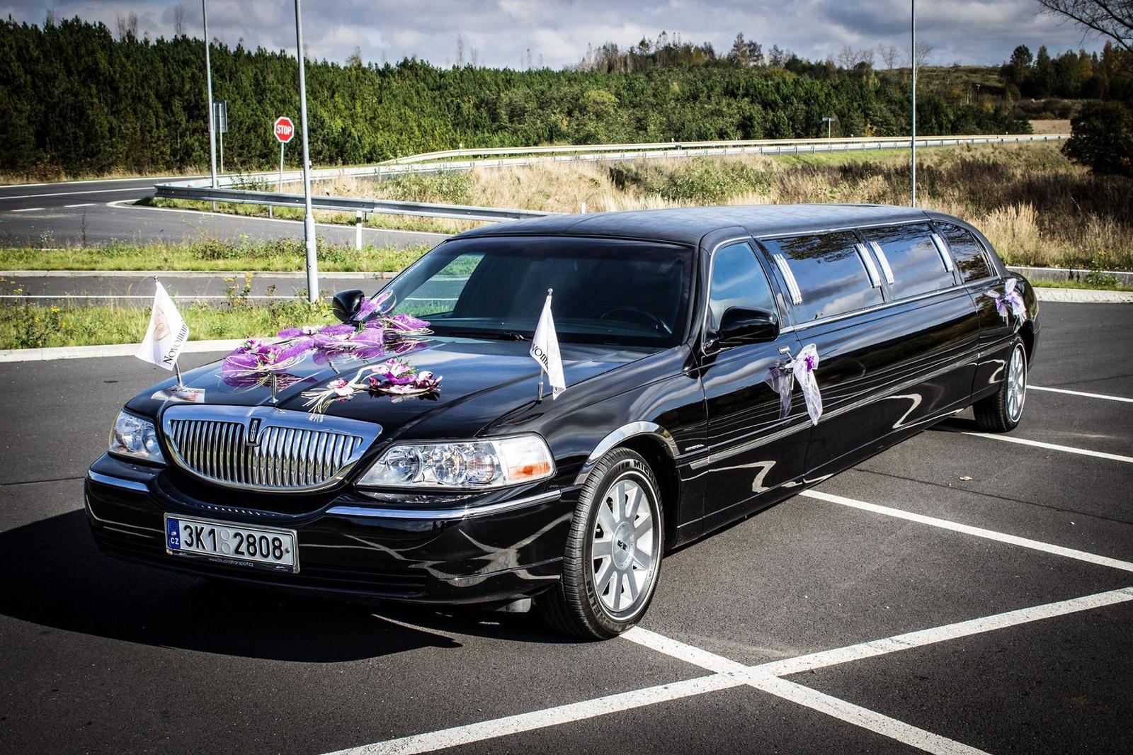 Svatební limuzína - Obrázek č. 1