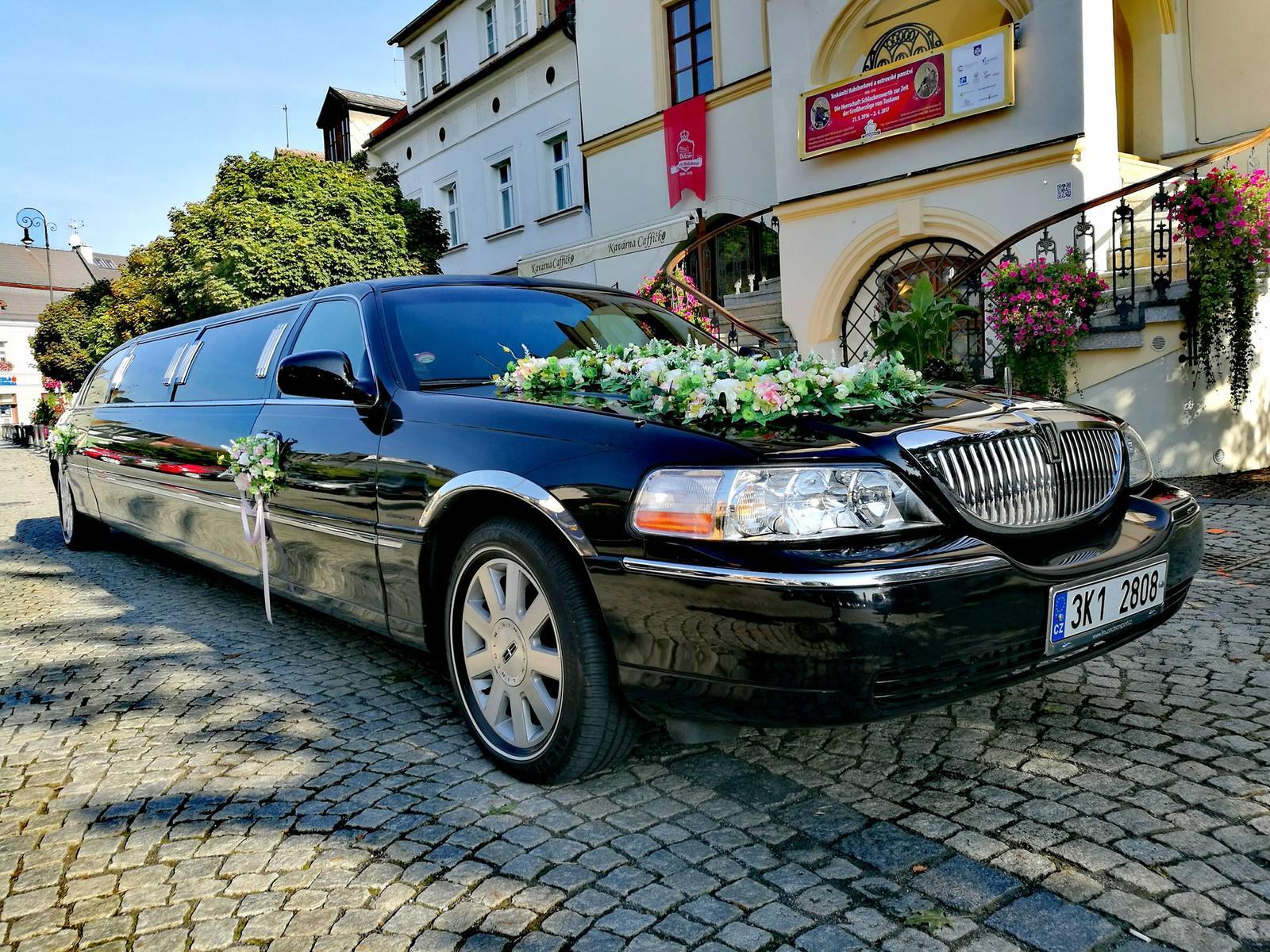 Svatební limuzína - Obrázek č. 4