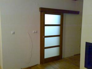 Posuvne dvere na vstupnej chodbe