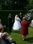 Svatební princeznovské šaty vel. 46 - 50, 48