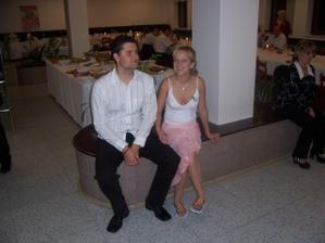 moje krásná svědkyně a její manžel čekatel..