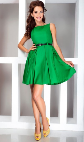 Společenské šaty vel. XL - modré - Obrázek č. 1