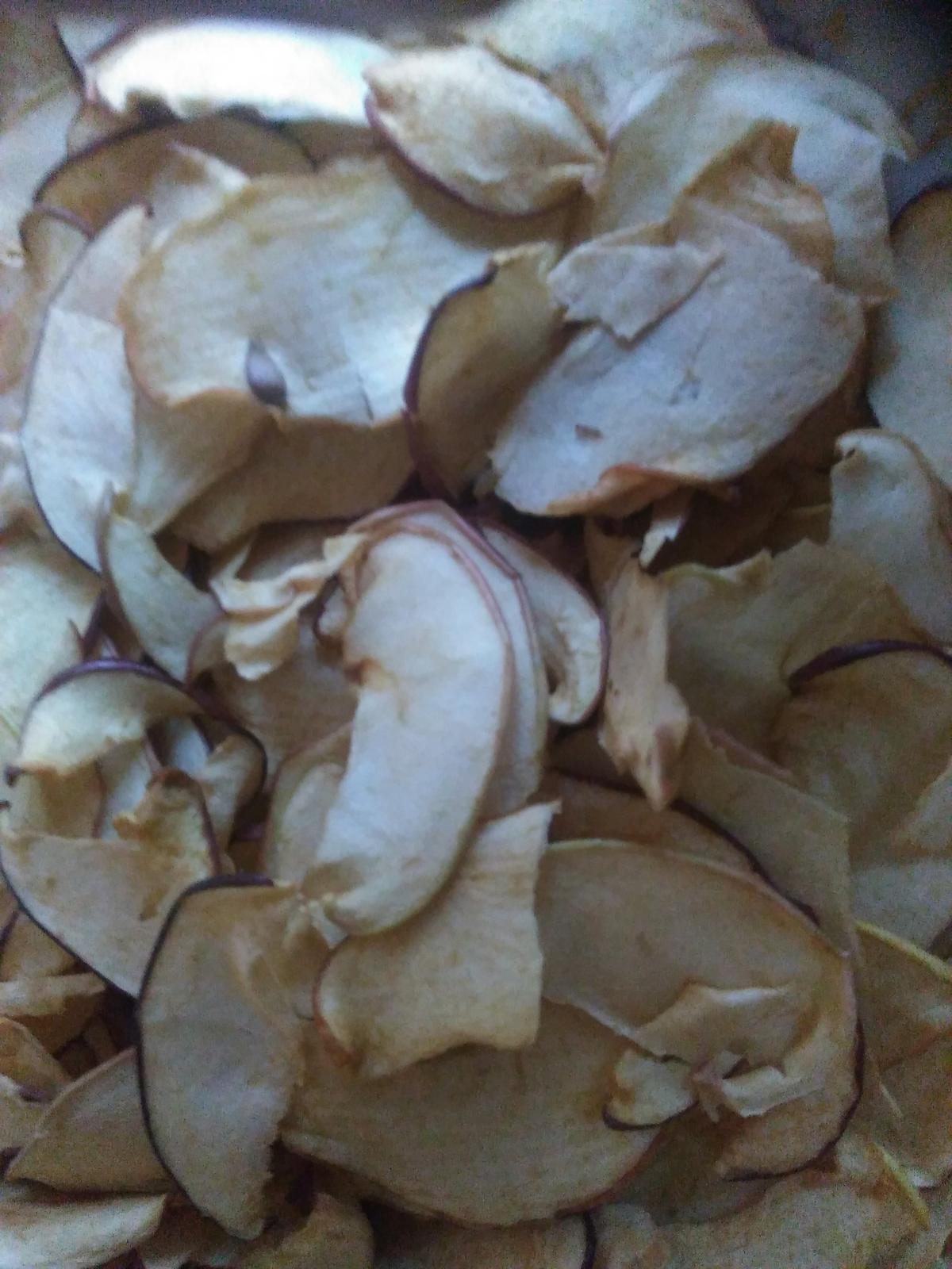 Sušené jablká-chipsy - Obrázok č. 1