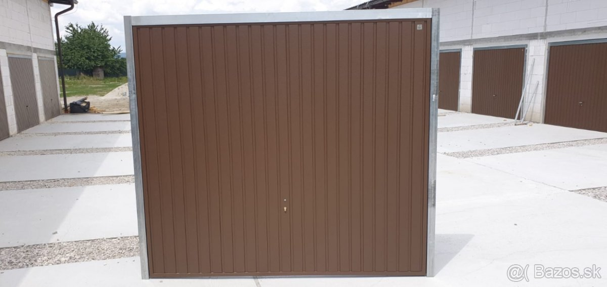 Predám garážové brány - Obrázok č. 1
