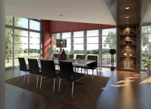 Obývací pokoj a kuchyn ispirace - Obrázek č. 194