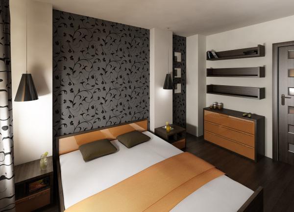 3D návrh spálni - Obrázok č. 2