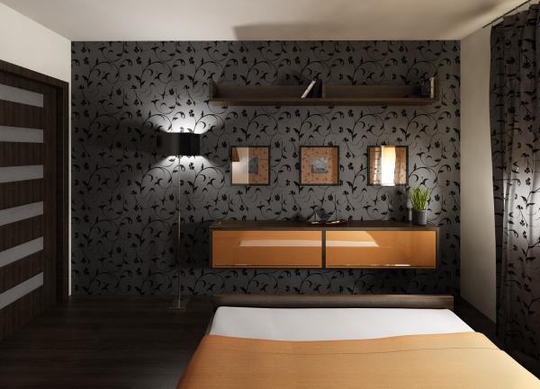 3D návrh spálni - Obrázok č. 4