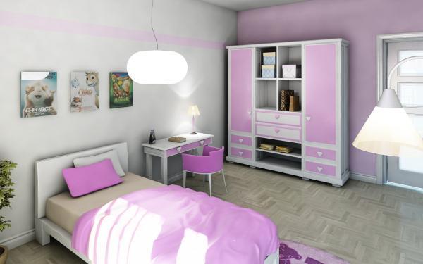 3D návrh detských izieb - Obrázok č. 9