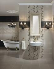 Koupelnička, líbí se mi styl, ale ne dekor dlaždiček