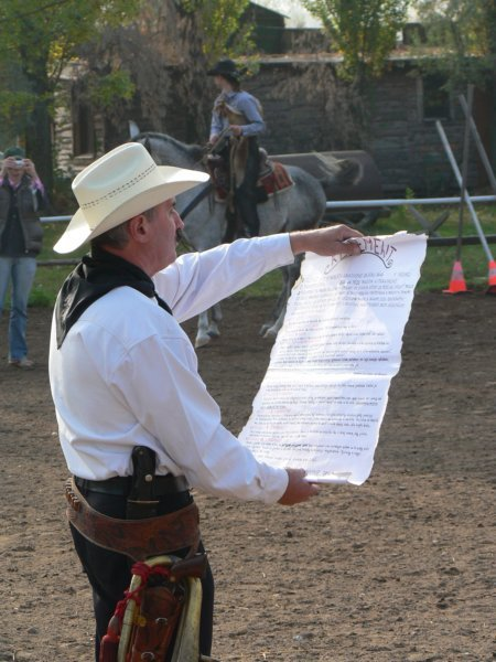 Slniečkova svadba na ranči - Sheriff Vilo-možno ma povedie aj k obradu :-)