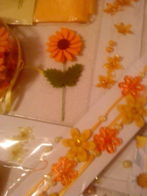 Slniečkova svadba na ranči - detail vyzdoby na stoly