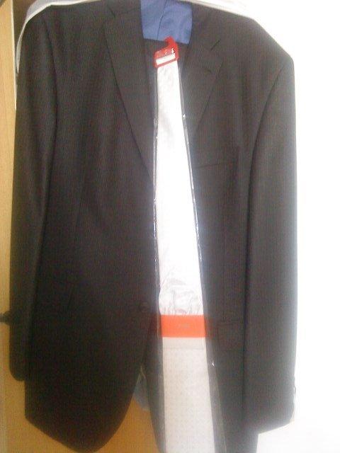 Slniečkova svadba na ranči - draheho dark chocolate oblek a kravata s kapesnickom