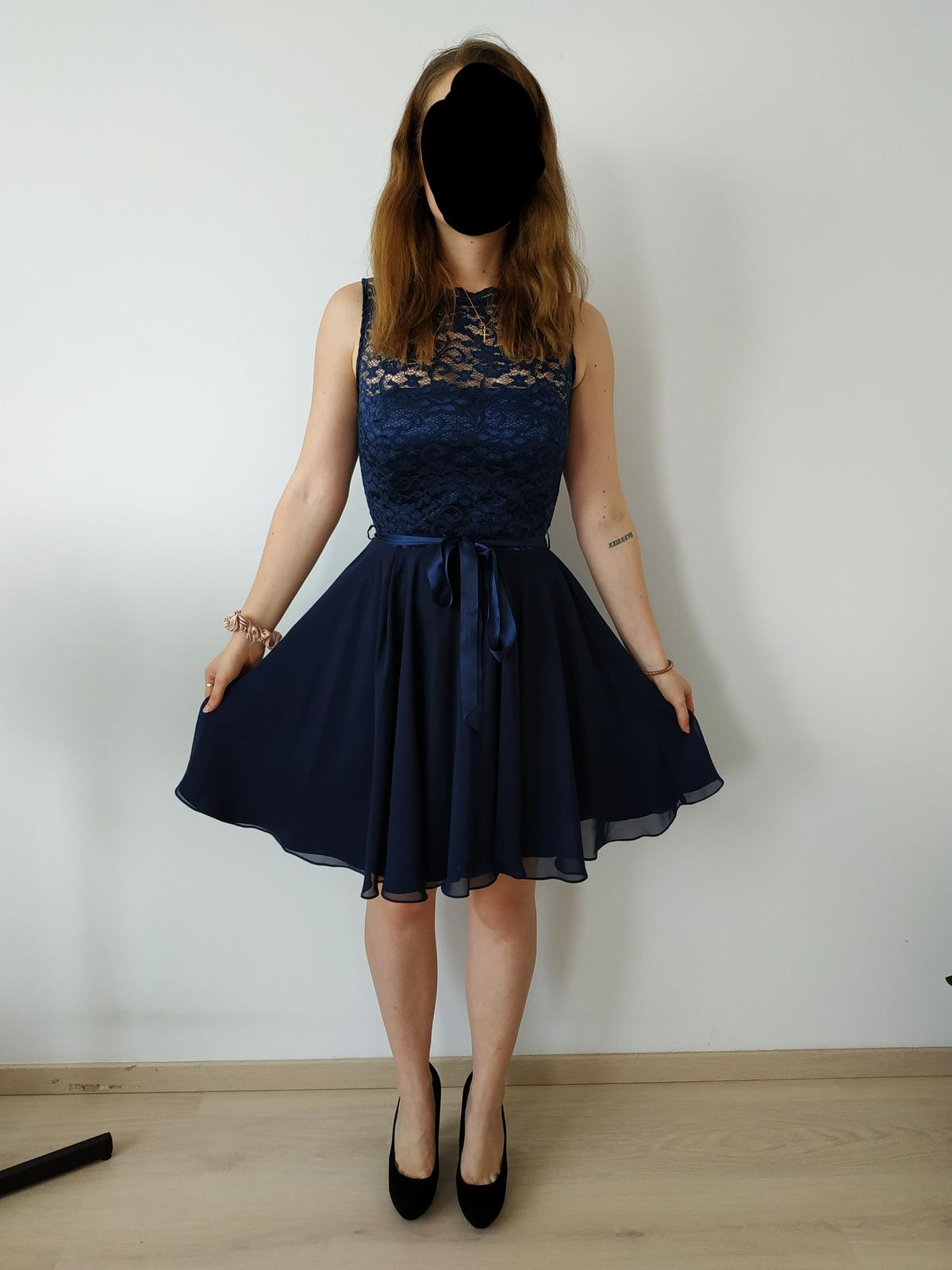 Spoločenské/popolnočné šaty SWING - Obrázok č. 1