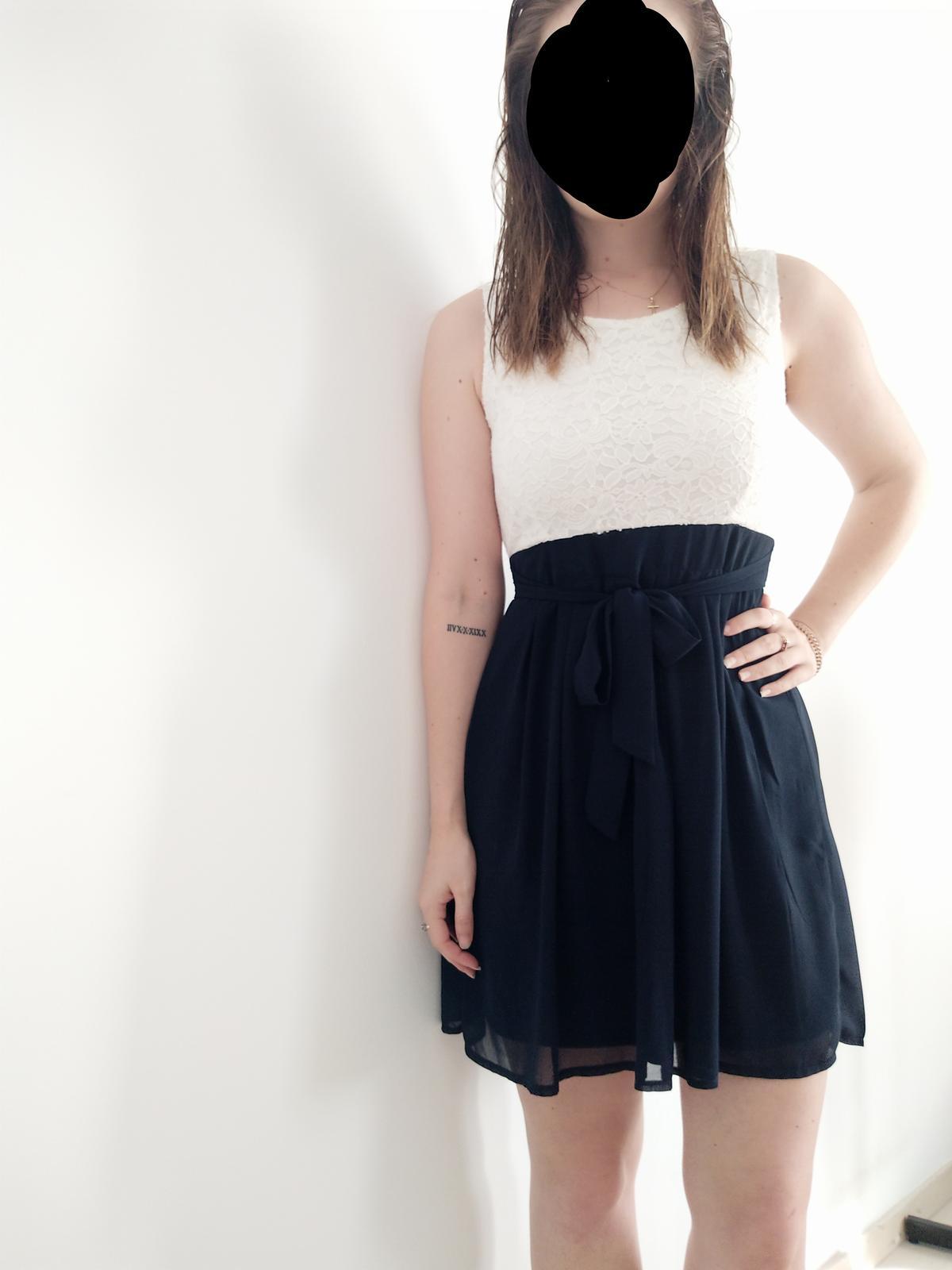Krátke spoločenské/popolnočné šaty - Obrázok č. 1