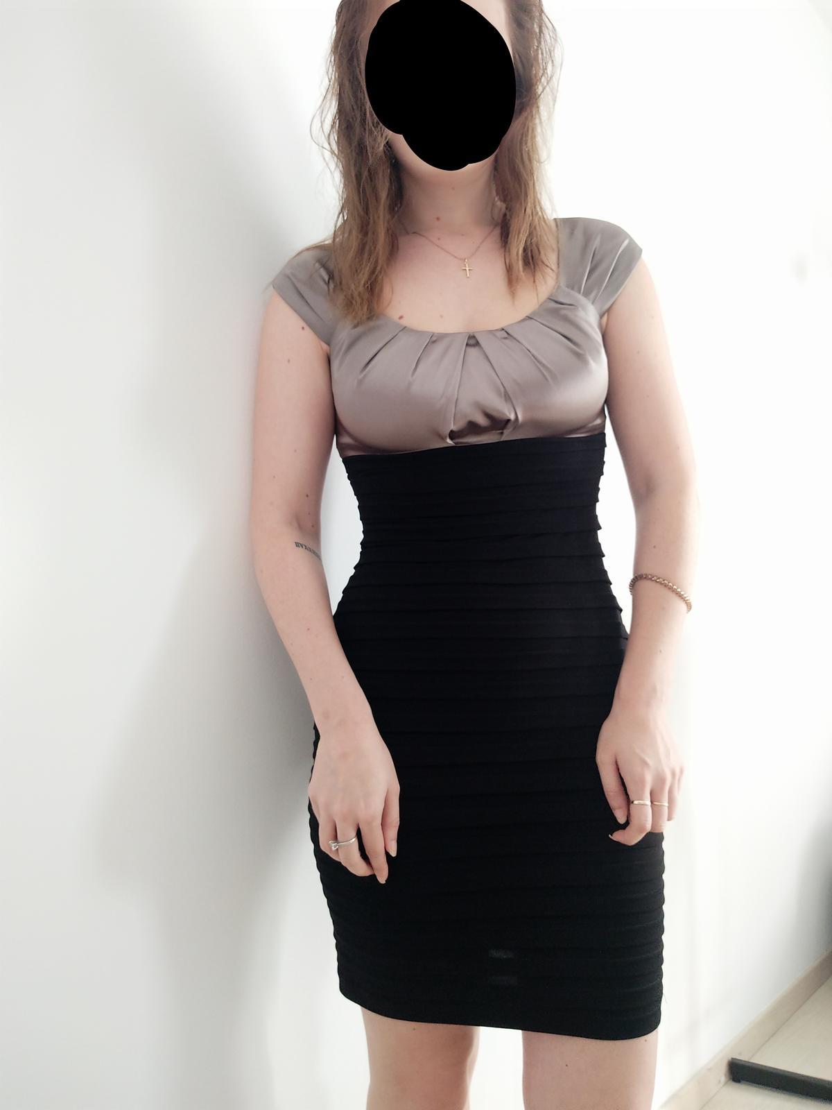 Puzdrové šaty Mariposa - Obrázok č. 1