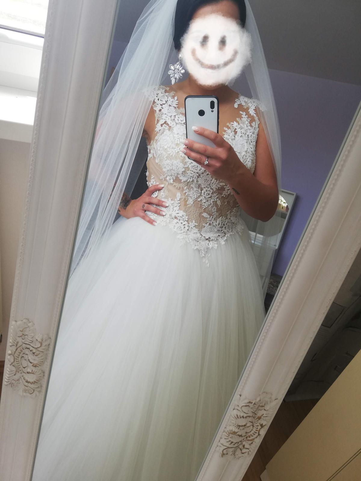 Svadobné šaty LA SPOSA HALAR - Obrázok č. 1