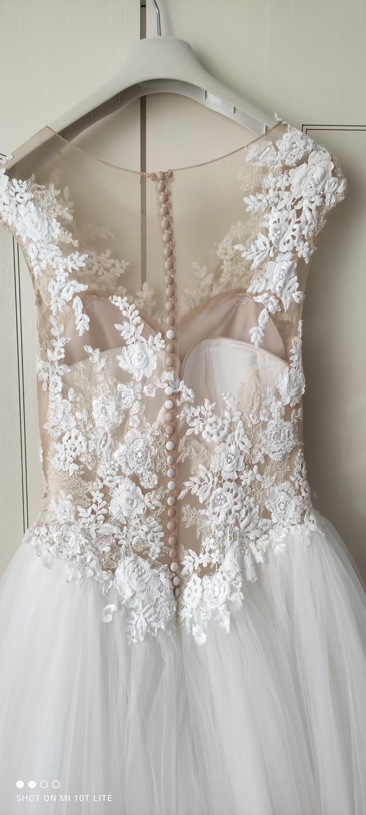 Svadobné šaty LA SPOSA HALAR - Obrázok č. 2