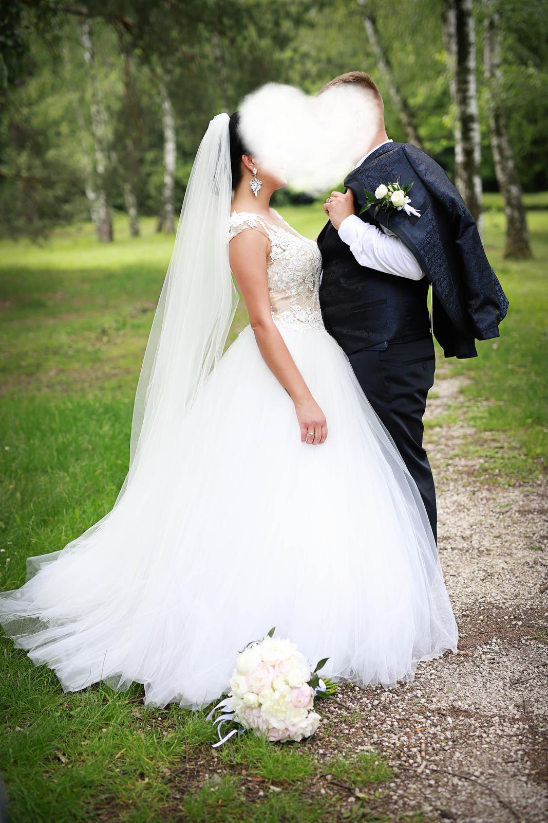 Svadobné šaty LA SPOSA HALAR - Obrázok č. 3