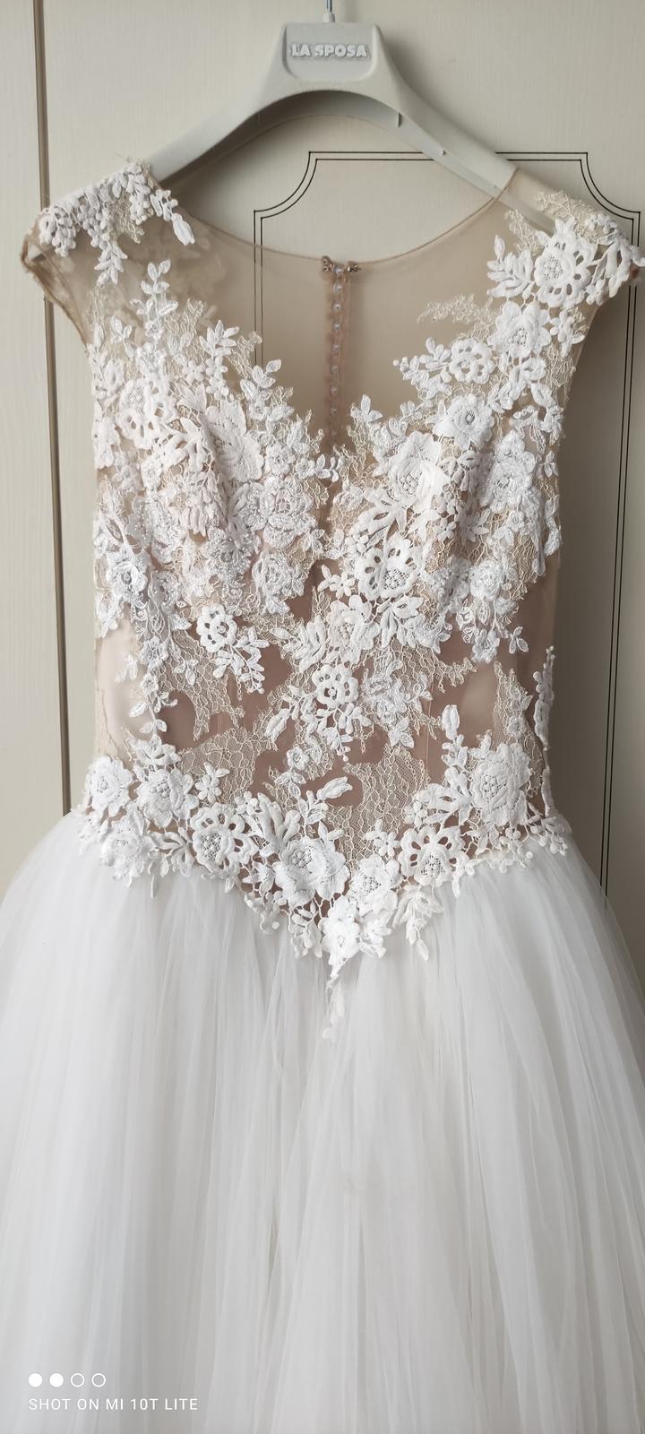 Svadobné šaty LA SPOSA HALAR - Obrázok č. 4