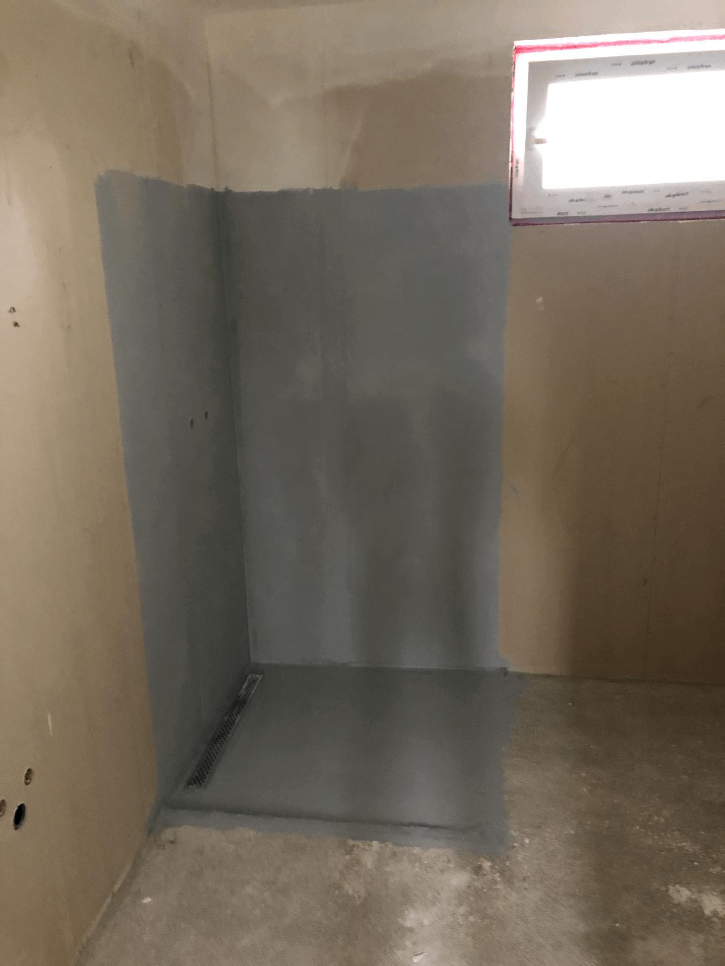 Naše prvé vlastné bývanie - kúpeľňa