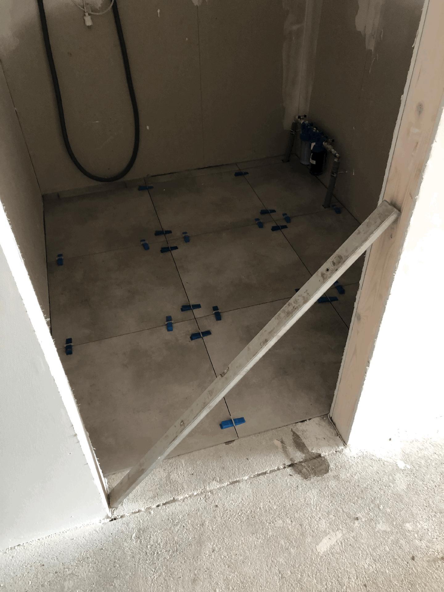 Naše prvé vlastné bývanie - technická miestnosť..