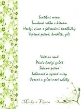 menu ...předběžný náhled