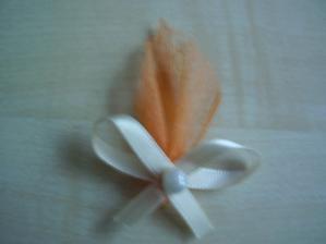 vývazky pro svatebčany+myrta (vlastní výroba)