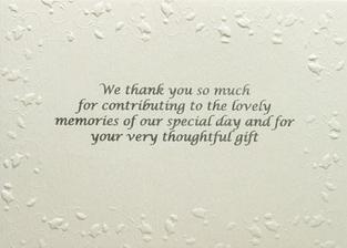 pozvání ke svatebnímu rautu. Na druhé straně pozvánky je text, že upřednostňujeme penežní dary- samozřejme hezky zveršované :-)