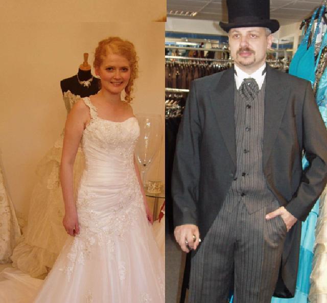 Přípravy - ženich a nevěsta - jak nám to ladí :)