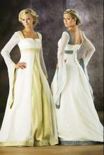 tyhle šaty, ale celé bílé budu mít