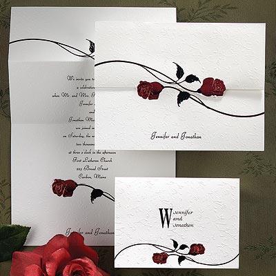 Rose wedding - ružové oznámenie 1