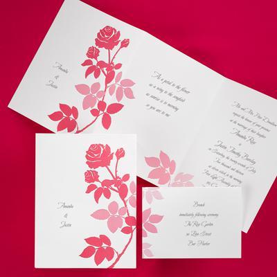 Rose wedding - ružové oznámenie 2