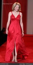 nápady na červené polnočné šaty