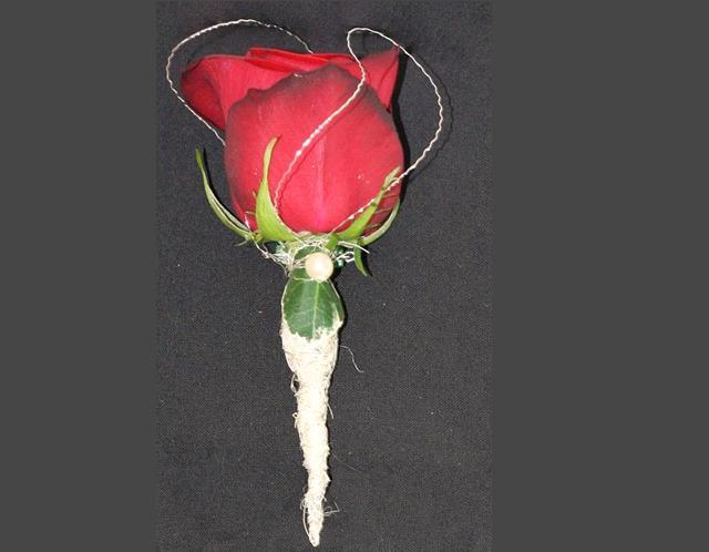 Rose wedding - pierko pre ženícha