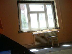 položená nová okna