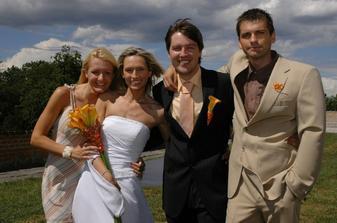 s Magdalenkou a Tomem