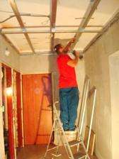 sadrokartónové stropy sme dávali všade