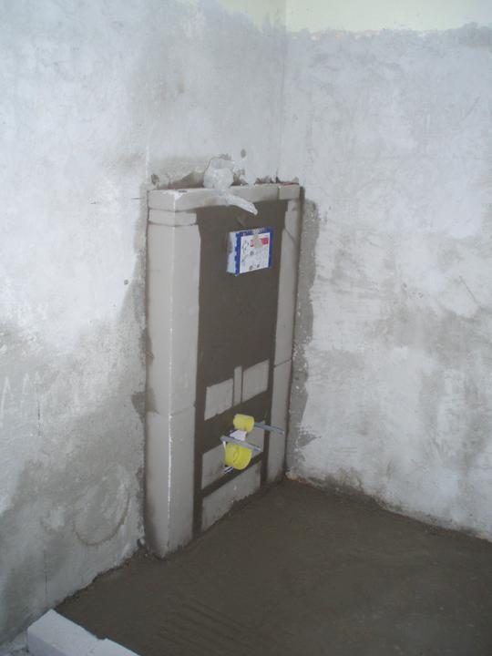 Prerábka domu - WC