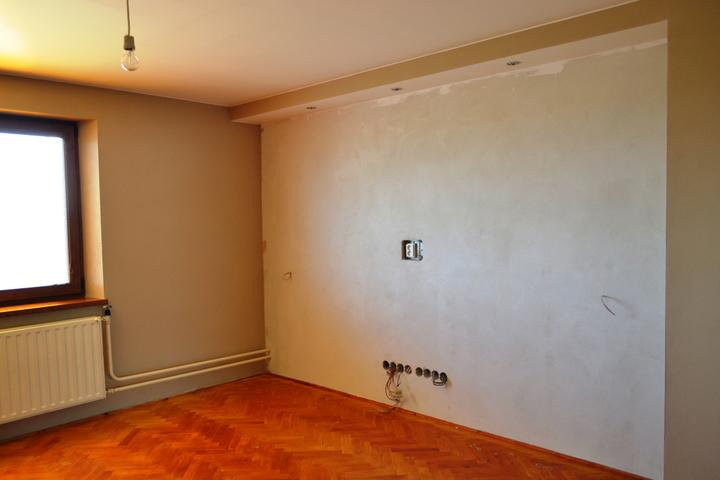 Prerábka domu - Obývačka pred...