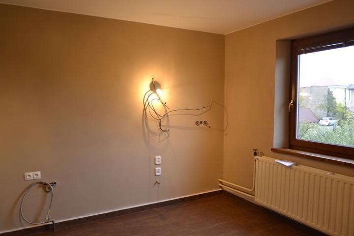 Prerábka domu - Kuchyňa - na túto stenu pôjde linka