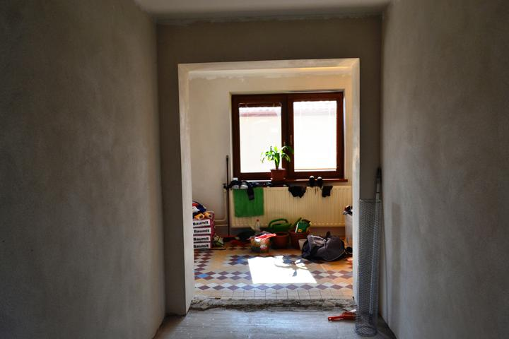 Prerábka domu - Chodba