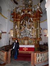 kostel interier