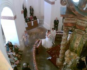 obřad a výzdoba kostela