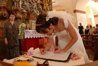 .....a ještě nevěsta....