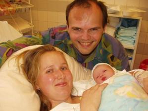 Naše dcera Barborka narozená 19.8.2007