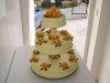 tenhle svatební dort jsme si nakonec vybrali
