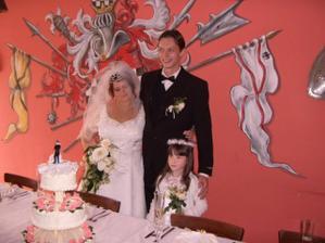 Před svatební tabulí